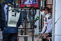 2nd place finisher Marc Hirschi (SUI/Sunweb) post race interview<br /> <br /> 106TH Liège-Bastogne-Liège 2020 (1.UWT)<br /> 1 Day Race Liège-Liège 257km