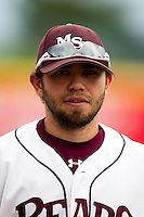Aaron Conway (11) of the Missouri State Bears prior to a game against the Bradley Braves on May 13, 2011 at Hammons Field in Springfield, Missouri.  Photo By David Welker/Four Seam Images