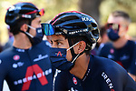 Egan Bernal (COL) Team Ineos Grenadiers at sign on before the start of Stage 7 of Tour de France 2020, running 168km from Millau to Lavaur, France. 4th September 2020.<br /> Picture: ASO/Alex Broadway | Cyclefile<br /> All photos usage must carry mandatory copyright credit (© Cyclefile | ASO/Alex Broadway)