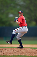 Atlanta Braves Raymar Navarro (71) during an intrasquad Spring Training game on March 29, 2016 at ESPN Wide World of Sports Complex in Orlando, Florida.  (Mike Janes/Four Seam Images)