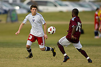 2010 US Soccer Development Academy Winter Showcase U17/18 Empire United vs Colorado Rapids at Reach 11 Soccer Complex in Phoenix, Arizona in December of  2010.