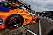 Verizon IndyCar Series<br /> Indianapolis 500 Qualifying<br /> Indianapolis Motor Speedway, Indianapolis, IN USA<br /> Saturday 20 May 2017<br /> Fernando Alonso, McLaren-Honda-Andretti Honda leaves on his qualifying run<br /> World Copyright: Phil Abbott<br /> LAT Images