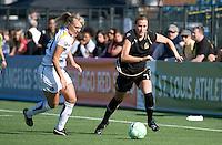 Johanna Frisk, Leigh Ann Robinson. The Los Angeles Sol defeated FC Gold Pride, 2-0, at Buck Shaw Stadium in Santa Clara, CA on May 24, 2009.