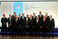 28 oct 2016, Marseille, France - Jean-Marc Ayrault, Ministre des Affaires EtrangËres et co-prÈsident de la 13Ëme rÈunion des Ministres des Affaires EtrangËres du 'Dialogue 5+5 sur la MÈditerranÈe occidentale'. # JEAN-MARC AYRAULT RECOIT A MARSEILLE LES MINISTRES DES AFFAIRES ETRANGERES DES PAYS MEDITERRANEENS