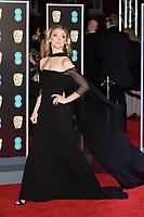 Natalie Dormer<br /> arriving for the BAFTA Film Awards 2018 at the Royal Albert Hall, London<br /> <br /> <br /> ©Ash Knotek  D3381  18/02/2018