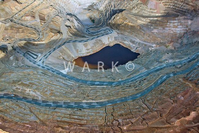 El Chino copper mine.  Silver City, New Mexico. Dec 2012