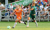 Jen Buczkowski, Niki Cross #19..Saint Louis Athletica defeated Sky Blue F.C 1-0, at Anheuser-Busch Soccer Park, Fenton, MO.