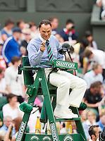 29-06-12, England, London, Tennis , Wimbledon, Mohamed Lahyani