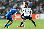 Tottenham Hotspur midfielder Georges-Kevin Nkoudou in action during the Friendly match between Kitchee SC and Tottenham Hotspur FC at Hong Kong Stadium on May 26, 2017 in So Kon Po, Hong Kong. Photo by Man yuen Li  / Power Sport Images