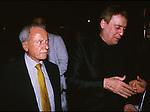 ACHILLE BONITO OLIVA E CARMELO BENE<br /> TEATRO DEI COCCI ROMA 1993