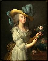 after Elisabeth-Louise Vigée Le Brun, Marie-Antoinette, after 1783, oil on canvas