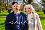 Enjoying a stroll in the Tralee town park on Thursday, l to r: Joe and Marie O'Keeffe.
