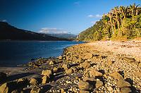 Heaphy River at Heaphy Hut, Kahurangi National Park, West Coast, New Zealand