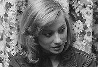 Veronique Samson au Quebec en 1973 (Date exacte inconnue)<br /> <br /> PHOTO : Agence Quebec Presse