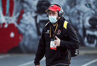 6 March 2021; Sean Reidy arrives for the Guinness PRO14 match between Ulster and Leinster at Kingspan Stadium in Belfast. Photo by John Dickson/Dicksondigital