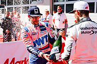 5th September 2021; Red Bull Ring, Spielberg, Austria; DTM Race 2 at Spielberg;   Maximilian Goetz D, Mercedes AMG GT3, Haupt Racing Team 11 Marco Wittmann D, BMW M6GT3, Walkenhorst Motorsport