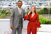 WILL SMITH - JESSICA CHASTAIN - CANNES 2017 - PHOTOCALL DU JURY
