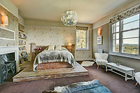 BNPS.co.uk (01202) 558833<br /> Pic: KnightFrank/BNPS<br /> <br /> The house has 7 bedrooms<br /> <br /> A historic English country estate with a French chateau feel and royal connections is on the market for £5.5m.<br /> <br /> The site of Grade II listed Yarner House was once governed by William the Conqueror, mentioned in the Domesday Book and a popular hunting site in Tudor times.<br /> <br /> The seven-bedroom house sits in a 247-acre estate on the edge of Dartmoor National Park and has stunning views over the surrounding landscape, including Yarner Wood.<br /> <br /> The ancient woodland was once part of the property until 1952 when it was sold to the Nature Conservancy to become one of the first national nature reserves.<br /> <br /> Where the current Yarner House is built, it is thought to have had a hunting lodge in Tudor times, with connections to Henry VII, Henry VIII, Edward VI and Queen Mary.