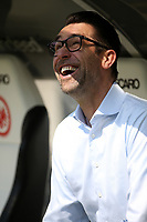 21.04.2018, Commerzbank - Arena, Frankfurt, GER, 1.FBL, Eintracht Frankfurt vs Hertha BSC , <br />Manager Michael Preetz (Berlin) *** Local Caption *** © pixathlon<br /> Contact: +49-40-22 63 02 60 , info@pixathlon.de