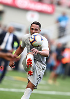 Calcio, Serie A: Inter Milano-Parma, Giuseppe Meazza stadium, September 15, 2018.<br /> Inter's Danilo D'ambrosio in action during the Italian Serie A football match between Inter and Parma at Giuseppe Meazza (San Siro) stadium, September 15, 2018.<br /> UPDATE IMAGES PRESS/Isabella Bonotto