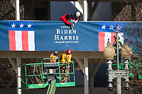 JAN 14 Inauguration preparation in DC