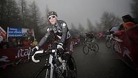 2013 Giro d'Italia.stage 14: Cervere - Bardonecchia.168km..Manuel Belletti (ITA) almost at the finish