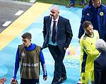 22.06.2021 Croatia v Scotland: A reufel Steve Clarke walks up the tunnel at FT