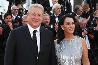 AL GORE - RED CARPET OF THE 70TH ANNIVERSARY CEREMONY AT THE 70TH FESTIVAL OF CANNES 2017