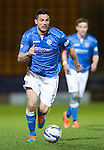 St Johnstone v Aberdeen...23.01.15   SPFL<br /> Gary Miller<br /> Picture by Graeme Hart.<br /> Copyright Perthshire Picture Agency<br /> Tel: 01738 623350  Mobile: 07990 594431