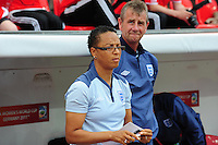 Fifa Women's World Cup Germany 2011 : England - France - at Leverkusen : Hope Powell.foto DAVID CATRY / Vrouwenteam.be