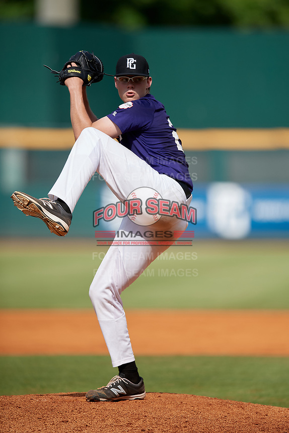 James Peyton Smith (23) of East Robertson High School in Springfield, TN during the Perfect Game National Showcase at Hoover Metropolitan Stadium on June 20, 2020 in Hoover, Alabama. (Mike Janes/Four Seam Images)
