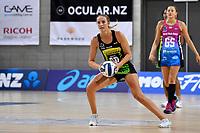 Kelly Jury of the Pulse during the ANZ Premiership Netball - Te Wānanga o Raukawa Pulse v Southern Steel at Te Rauparaha Arena, Porirua, New Zealand on Sunday 16 May 2021.<br /> Photo by Masanori Udagawa. <br /> www.photowellington.photoshelter.com