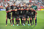 Al-Jazira (UAE) vs Al-Rayyan (QAT) during the 2014 AFC Champions League Match Day 1 Group A match on 25 February 2014 at Mohammed Bin Zayed Stadium, Abu Dhabi, United Arab Emirates. Photo by Stringer / Lagardere Sports