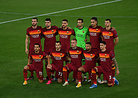 Football: Uefa Europa League - semifinal 2nd leg AS Roma vs Manchester United Olympic Stadium. Rome, Italy, May 6, 2021.<br /> Roma's players pose for the pre match photograph prior to the Europa League football match between Roma and Manchester United at Rome's Olympic stadium, Rome, on May 6, 2021.  <br /> UPDATE IMAGES PRESS/Isabella Bonotto