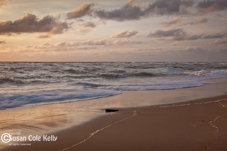 View of the Atlantic Ocean from Coast Guard Beach, Cape Cod National Seashore, Eastham, MA, USA