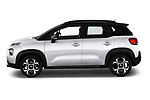 Car driver side profile view of a 2018 Citroen C3 Aircross Shine 5 Door SUV