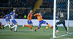 23.01.2019 Kilmarnock v Rangers: Kyle Lafferty in front of goal