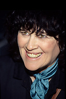 Montreal (Qc) CANADA,November 1995 File Photo -<br /> award-winning author Marie-Claire Blais<br /> <br /> author (b at Québec City 5 Oct 1939). One of Québec's finest contemporary writers, Marie-Claire Blais grew up in the QUÉBEC CITY working-class district of Limoilou. Educated by Roman Catholic nuns, she became increasingly disillusioned with school as she became absorbed in her early literary endeavours. She decided to quit her academic program and take a year's commercial training. She then worked at a variety of jobs for three years before moving in 1958 to the Quartier Latin near Université Laval, where she attended lectures on French literature and was befriended by professors Jeanne Lapointe and Father Georges-Henri LÉVESQUE. In her novels, drama or poetry, Blais writes about humanity's success or failure - in reality or through fantasy - in redeeming human suffering in a material, moral or spiritual way.<br /> <br /> Her first novel, La Belle Bête, published in 1959, was highly acclaimed as well as being criticized for its lack of conventional morality. It was published in France in 1960 and was translated into English (Mad Shadows), Spanish and Italian. A second novel, Tête blanche (1960) soon followed (English tr 1961). The young novelist then spent a few moody months in Paris and wrote a poetical novel, The Day Is Dark. Back in Montréal Blais met American critic Edmund Wilson and was awarded two Guggenheim fellowships that enabled her to live in New England with friends, painter Mary Meigs and journalist Barbara Deming.<br /> <br /> Perhaps her best novel, UNE SAISON DANS LA VIE D'EMMANUEL (1965), was awarded the Prix France-Canada and the prestigious Prix Médicis, and brought her a much wider international audience with translations into multiple languages (published in English as A Season in the Life of Emmanuel). Over 2000 books, theses, articles, reviews and interviews have been written about it, and the critical contradictions they express are a tr
