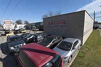 Pacos Tires on Shiloh St. in Springdale Thursday Nov. 19, 2020. (NWA Democrat-Gazette/J.T. Wampler)