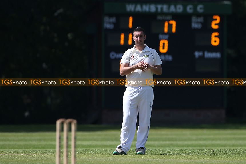 Craig Perrin of Harold Wood during Wanstead and Snaresbrook CC vs Harold Wood CC, Hamro Foundation Essex League Cricket at Overton Drive on 17th July 2021