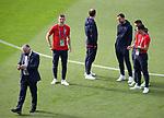 22.06.2021 Croatia v Scotland: Croatia players including Borna Barisic getting a selfie