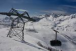 Rufibahn Gondola at Lech Ski Area, St Anton, Austria