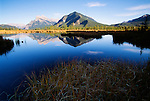 Vermillion Lakes, Mount Rundle, Canadian Rockies, Canada