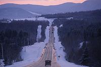 Amérique/Amérique du Nord/Canada/Quebec/Charlevoix : Sur la route de Baie-Saint-Paul