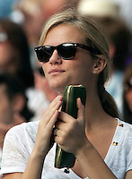 27-6-09, England, London, Wimbledon, Whife of andy Roddick, Brooklyn Decker