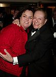 Rosie O'Donnell and Jerry Herman attending the Opening Night performance for' LA CAGE aux FOLLES 'at the Marquis Theatre in New York City.<br /> December 9, 2004