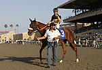16 August 2009: Magical Fantasy and Alex Solis win the John C. Mabee Stakes at Del Mar Race Track, Del Mar, CA