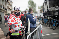 Polka Dot Jersey / KOM leader at the race start in Pau<br /> <br /> Stage 9 from Pau to Laruns (153km)<br /> <br /> 107th Tour de France 2020 (2.UWT)<br /> (the 'postponed edition' held in september)<br /> <br /> ©kramon