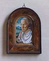 A small painting of 'Jack of Kent' hung below a late 16th century portrait of James Scudamore in the gothic hall