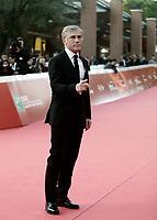 L'attore austriaco Christoph Waltz posa sul red carpet della Festa del Cinema di Roma, 26 ottobre 2017.<br /> Austrian actor Christoph Waltz poses on the red carpet during the international Rome Film Festival at Rome's Auditorium, October 26, 2017.<br /> UPDATE IMAGES PRESS/Isabella Bonotto